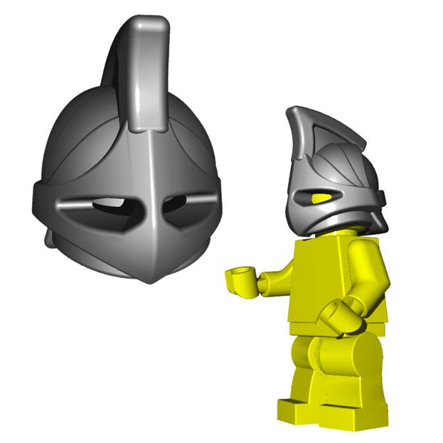 Helmet Tutorial Rhino Minifigure Helmet Rhino Helm
