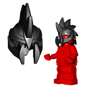 Minifigure Helmet - Demon Helmet