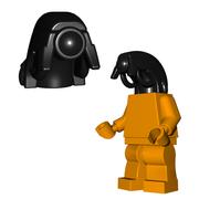Minifigure Head - Android Head