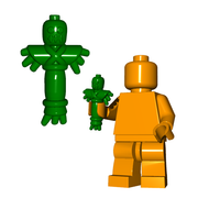 Minifigure Weapon - Voodoo Doll