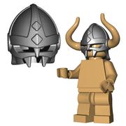 Minifigure Helmet - Viking Helmet