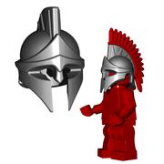 Minifigure Helmet - Spartan Helmet