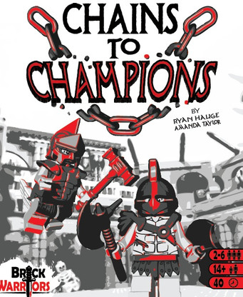 Chains to Champions Gladiator Themed Boardgame