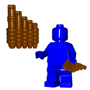 Minifigure Accessory - Reed Pipes