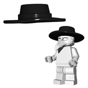 Minifigure Hat - Plague Doctor Hat