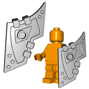 Minifigure Shield - Digger Shield