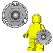 Minifigure Shield - Buckler