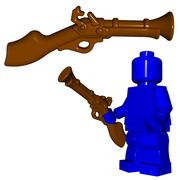 Minifigure Gun - Blunderbuss