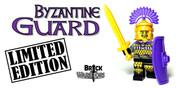 Custom LEGO® Minifigure - Byzantine Guard