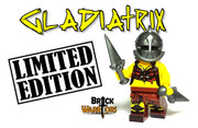Custom LEGO® Minifigure - Gladiatrix