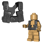 Minifigure Armor - German Gunner Suspenders