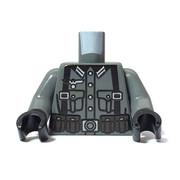 Custom Printed Minifigure Torso - German Rifleman