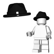 Minifigure Hat - Fedora