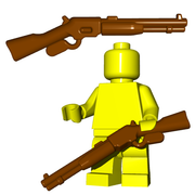 Minifigure Gun - Repeater Rifle