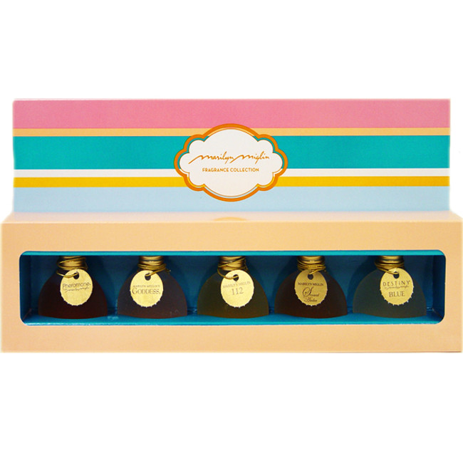 Marilyn Miglin Fragrance Collection (Pheromone / Goddess / 112 / Sensual Amber / Destiny Blue)