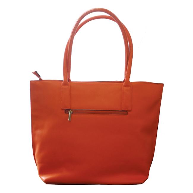 Neon Orange Handbag