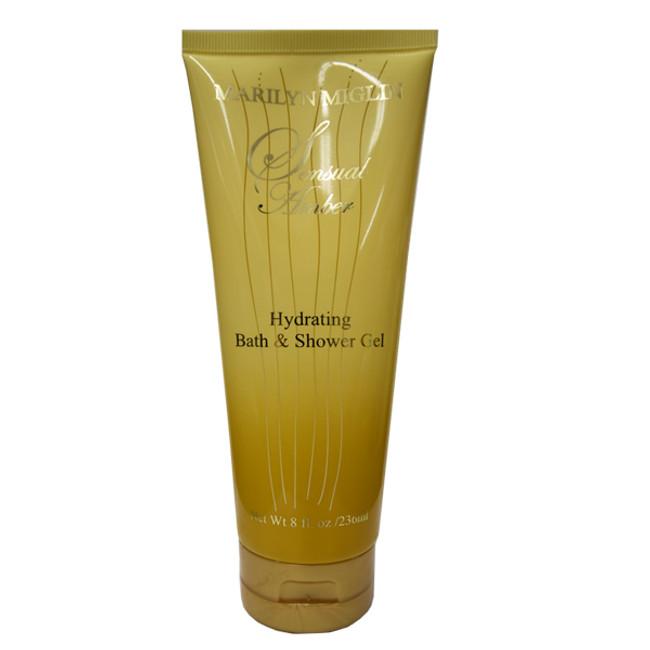 Sensual Amber Hydrating Bath & Shower Gel 8 oz