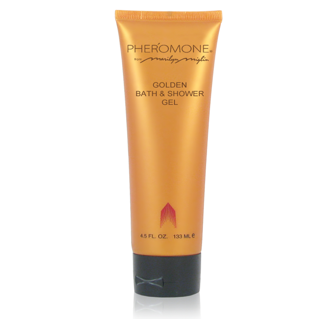 Pheromone Golden Bath & Shower Gel 4.5 oz