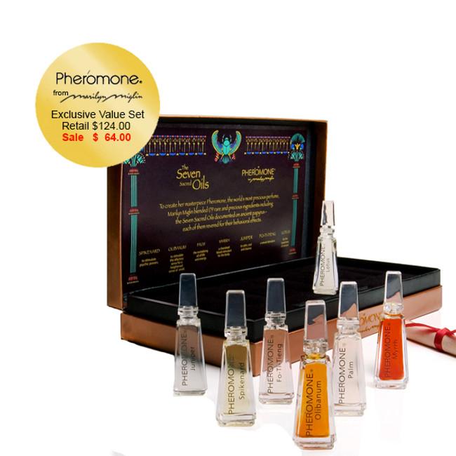 Pheromone Seven Sacred Oils
