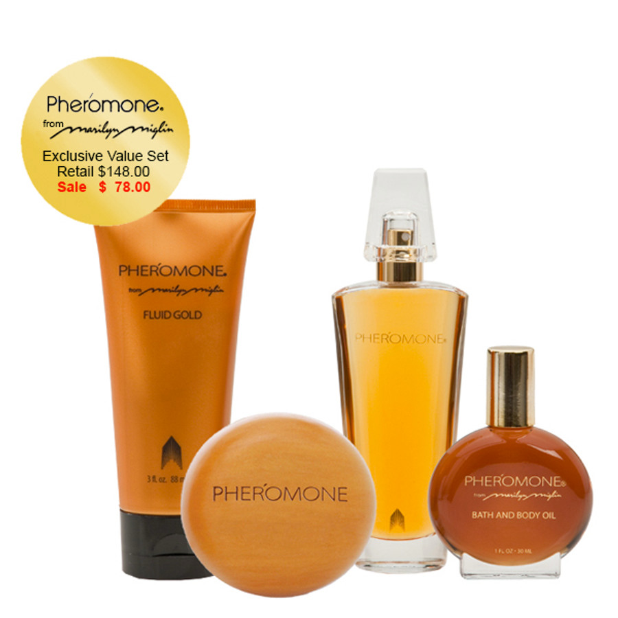 "Pheromone ""Golden Charm"" Gift Collection"