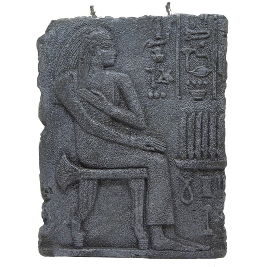 (SM) Hieroglyphs Story Candle