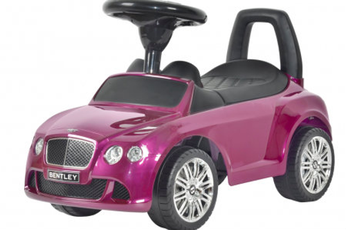 Bentley push car purple