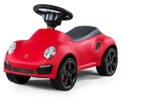 Licensed Porsche 911 Turbo Push Car Red