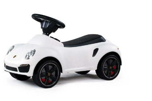 Licensed Porsche 911 Turbo Push Car White