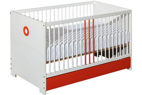 baby cot classic orange