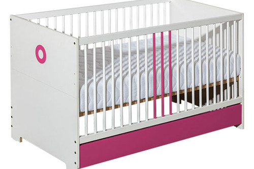 baby cot classic pink