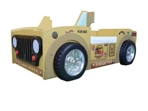 Safari Jeep Toddler Bed