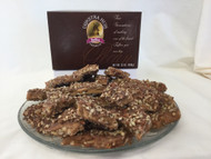 Milk Chocolate Pecan Toffee - Two Pounds