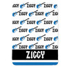 Personalized Name Game Guitar Blanket Blue