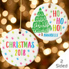 Personalized Colorful Christmas Tree Ornament
