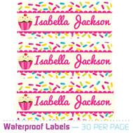 New: Waterproof Name Labels