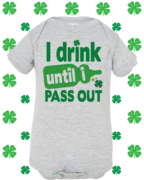 i drink until i pass out st day shirt