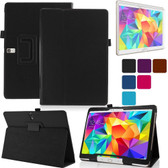 Samsung Galaxy Tab S 10.5 T800 T805 Folio Leather Case Cover 10 inch