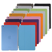 Apple iPad mini 1 2 3 Retina Smart Cover + Back Case mini1 mini2 mini3