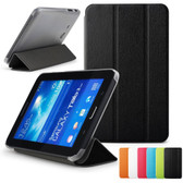 Samsung Galaxy Tab 3 7.0 Lite T110 T111 T113 Slim Leather Case Cover