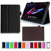 "Sony Xperia Tablet Z3 Compact 8.1"" inch Folio PU Leather Case Cover 8"