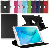 "Samsung Galaxy Tab A 9.7"" T550 T555 P550 360 Rotate Leather Case Cover"