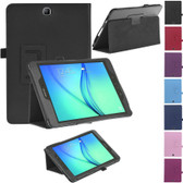 "Samsung Galaxy Tab A 8.0"" T350 T355 P350 Folio Leather Case Cover TabA"
