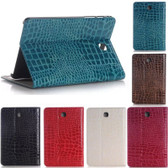 "Samsung Galaxy Tab 4 8.0"" T330 T331 T335 Croc-style Leather Case Cover"