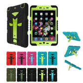 Heavy Duty iPad mini 1 2 3 Kids Case Cover 3-in-1 Apple Shockproof QT