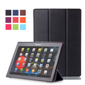 "Lenovo Tab 3 A10 10"" Premium 10.1 Tablet Smart Leather Case Cover"
