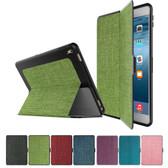 Slim Fabric iPad mini 1 2 3 Smart Case Cover Apple mini1 mini2 mini3