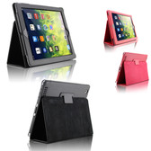 New iPad 9.7 2018 6th Gen Folio Leather Apple Smart Case Cover Stand