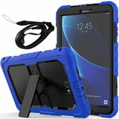Heavy Duty Samsung Galaxy Tab A 10.1 Strap Case Cover Kids Shockproof