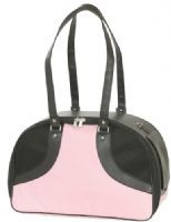 ROXY Pink & Black Dog Carrier
