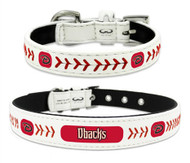 Arizona Diamondbacks Leather Dog Collar